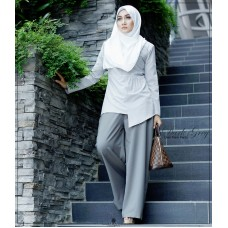 Dian Flare Pant (Dark Grey)