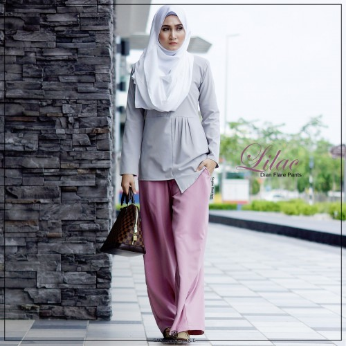Dian Flare Pant (Lilac)
