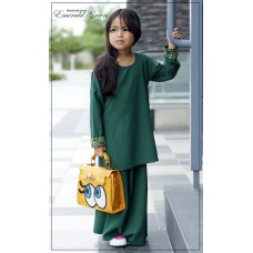 Maryam Kids (Emerald Green)