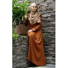 Sophea Dress (Brown)