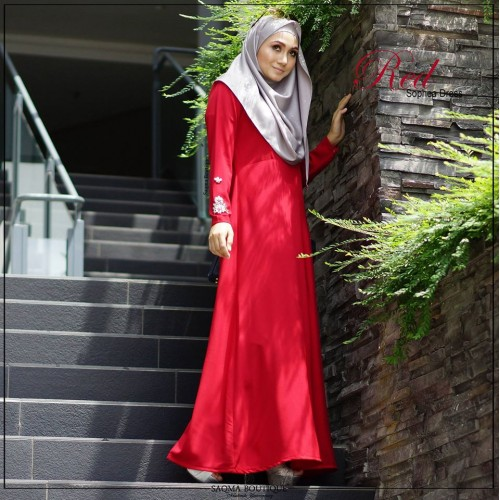 Sophea Dress (Red)