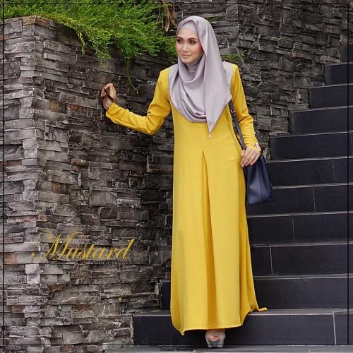 Sophea Dress (Mustard)
